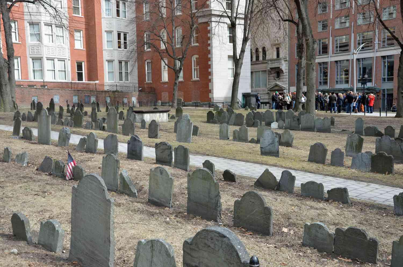 Granary Burying Ground Boston