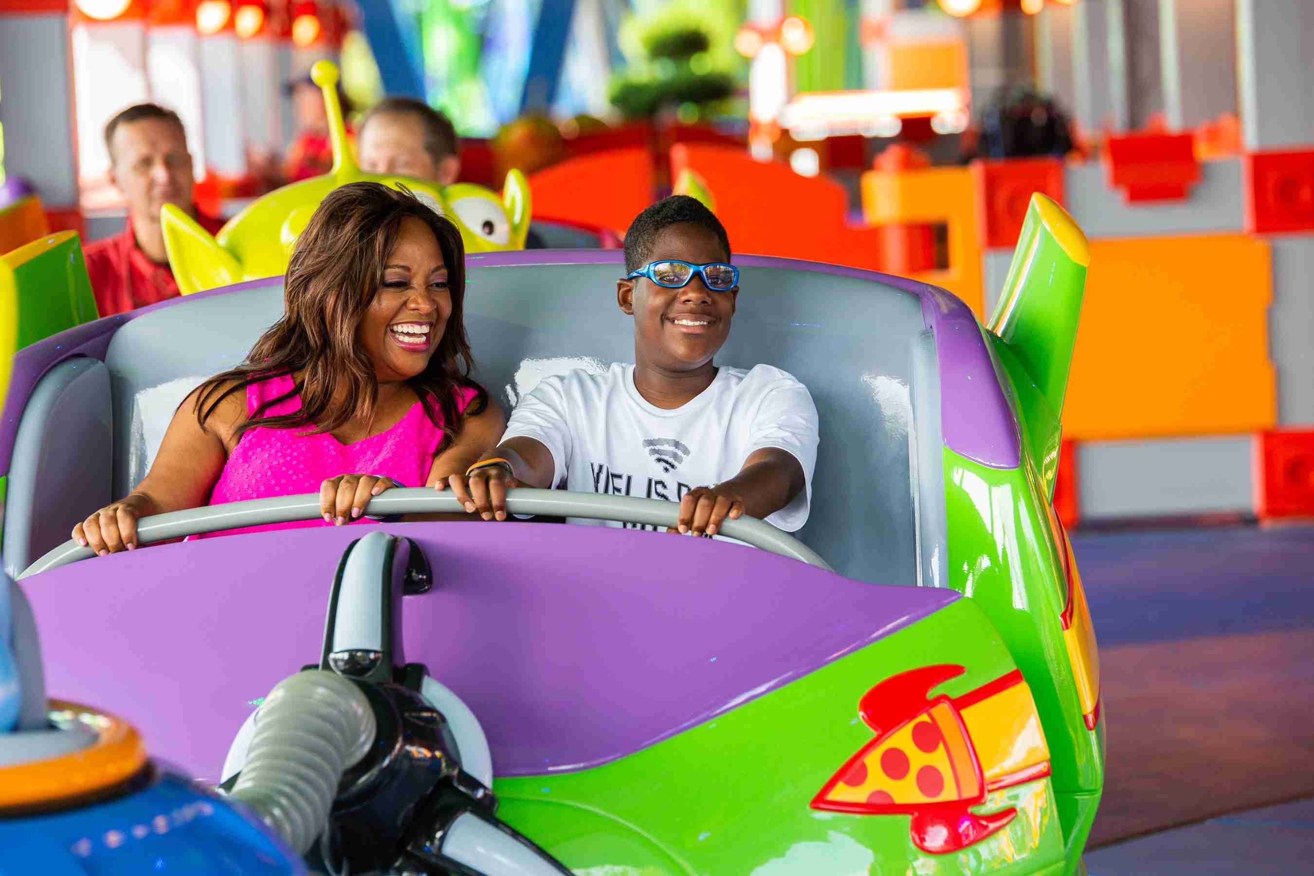 Celebrities Preview Toy Story Land en Walt Disney World Resort