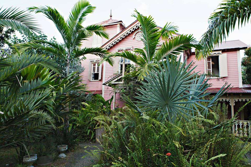 Pink Plantation House