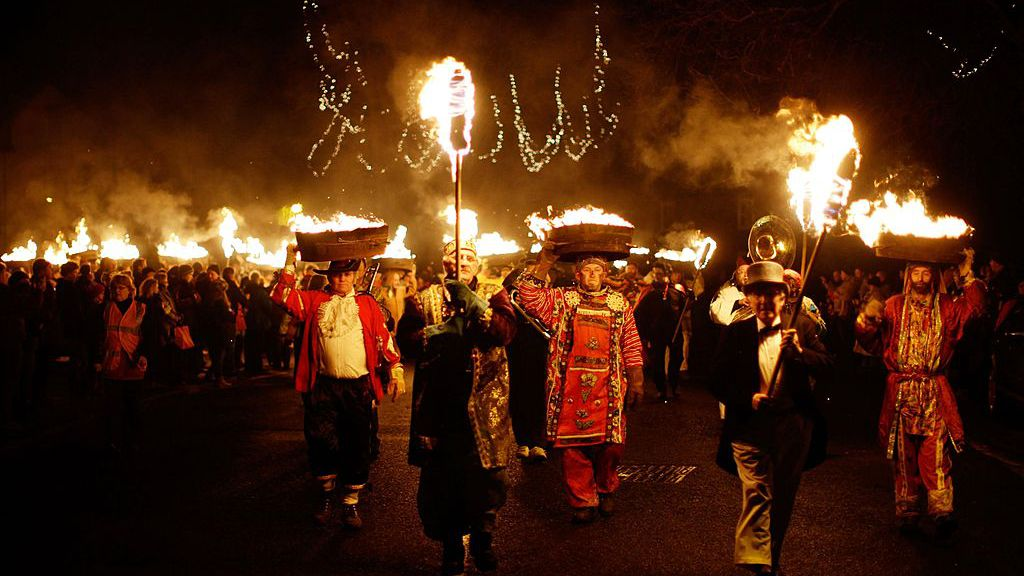 The Allendale Tar Barl Ritual of Flames and Guts