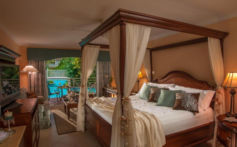 Staying At Sandals Grande St Lucian Beach Resort