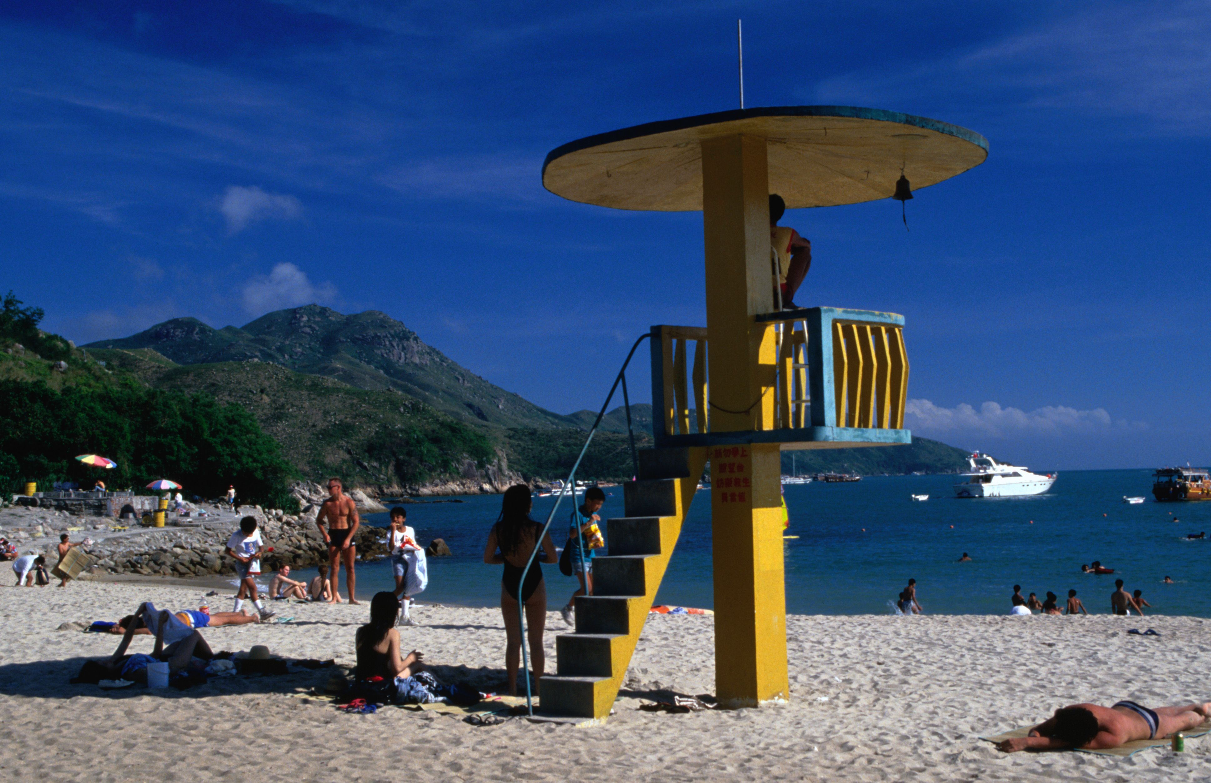 Lifeguard station on Tung Wan Beach