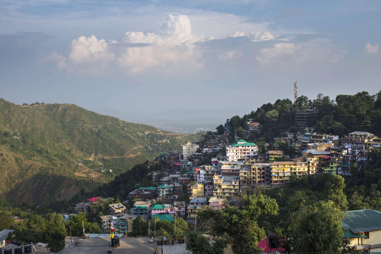 mcleod ganj  home of the tibetan community in india
