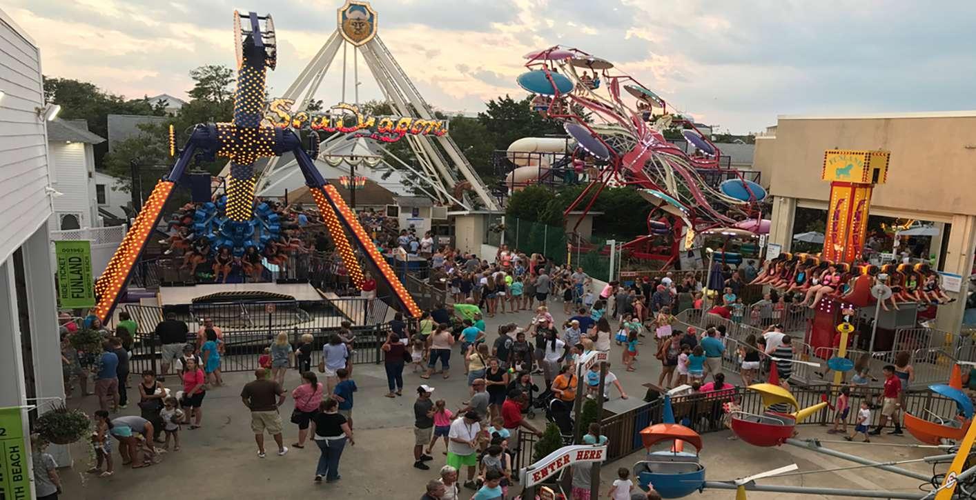 Funland Delaware amusement park