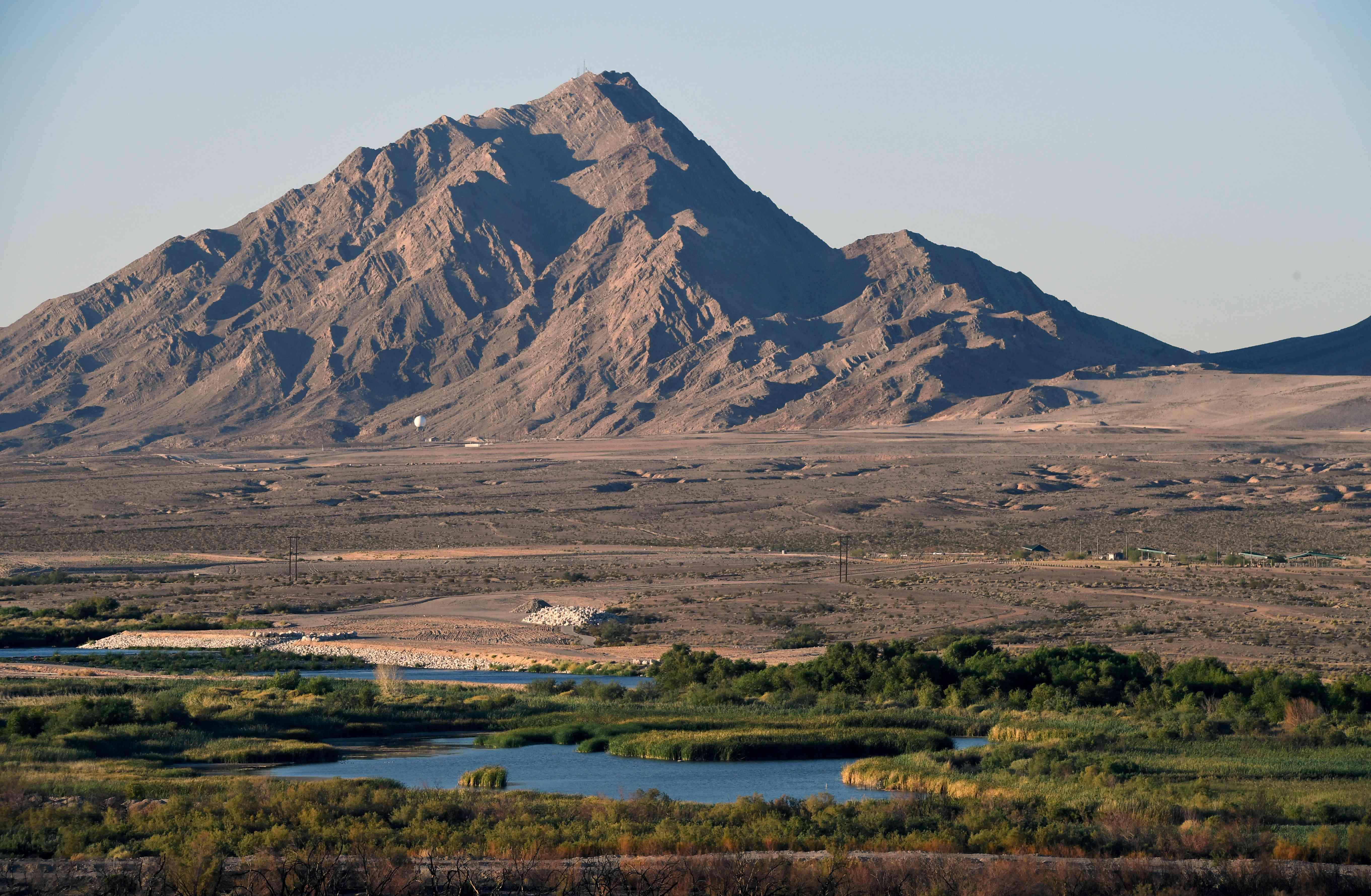 Clark County Wetlands Park And Frenchman Mountain