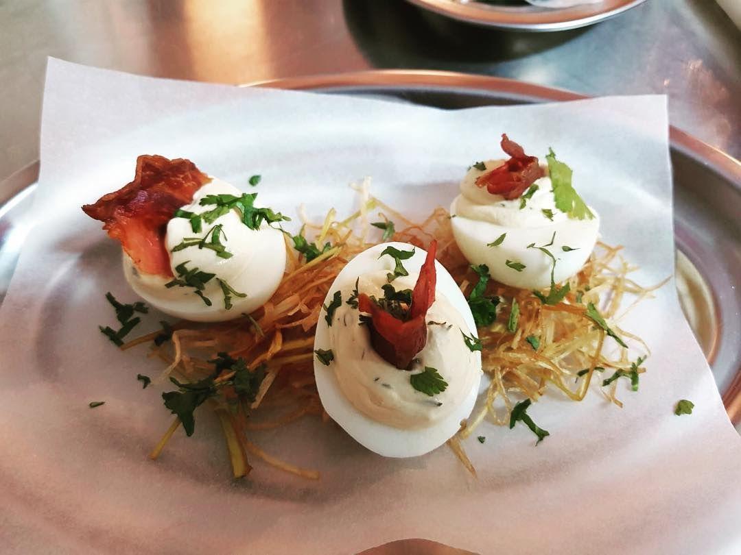Deviled Eggs at Picnic, Barcelona