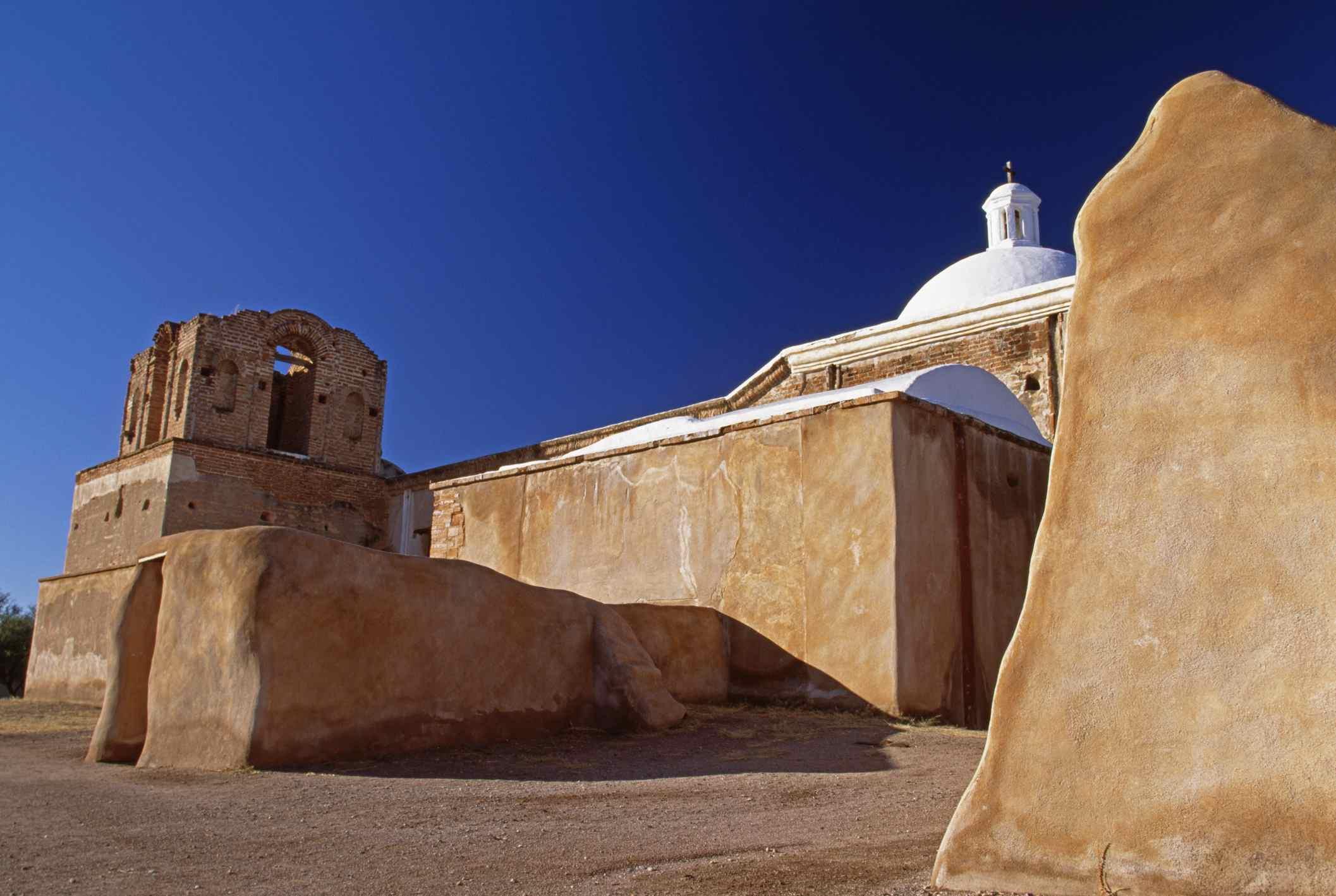 Ruins of Spanish Mission at Tumacacori National Historic Park