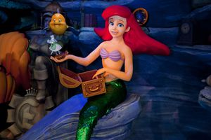 The Little Mermaid ride at Disney parks