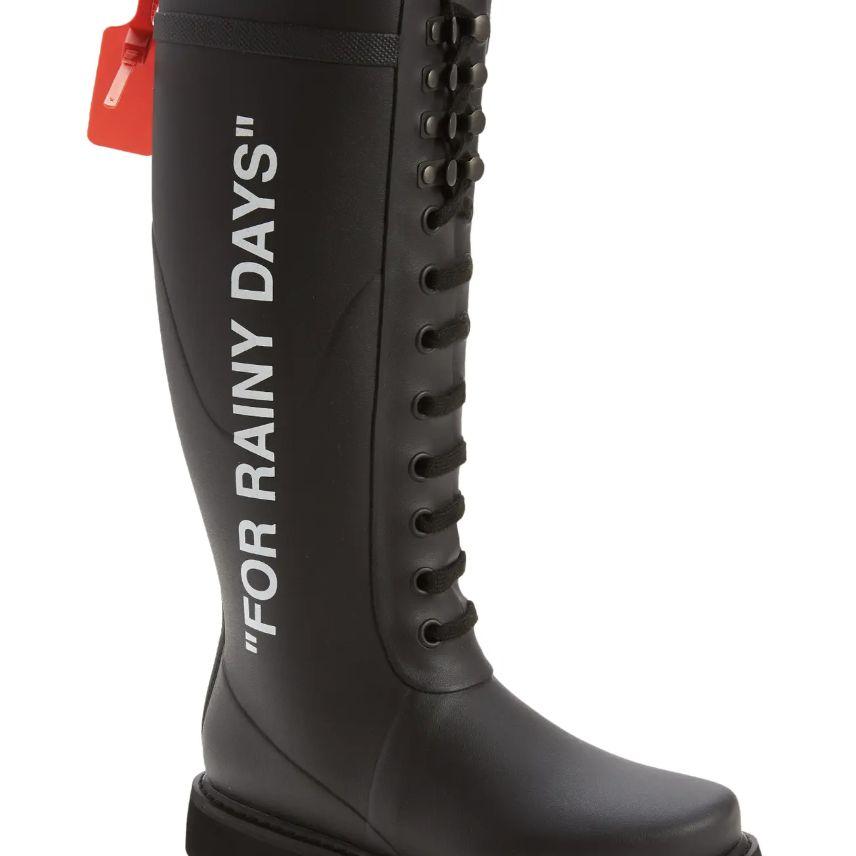 Off-White For Rainy Days Waterproof Rain Boot
