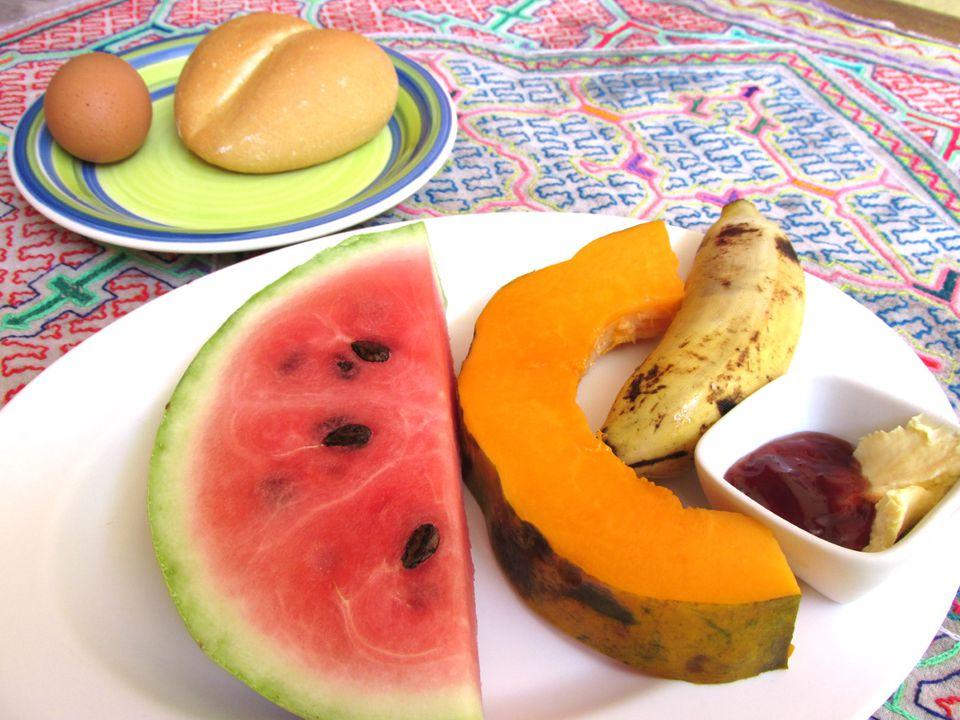 Desayuno en Perú
