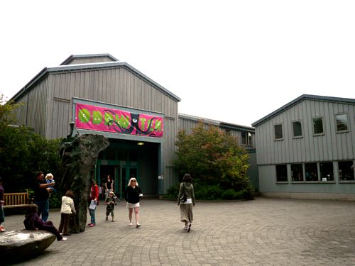 The Oregon Coast Aquarium in Newport