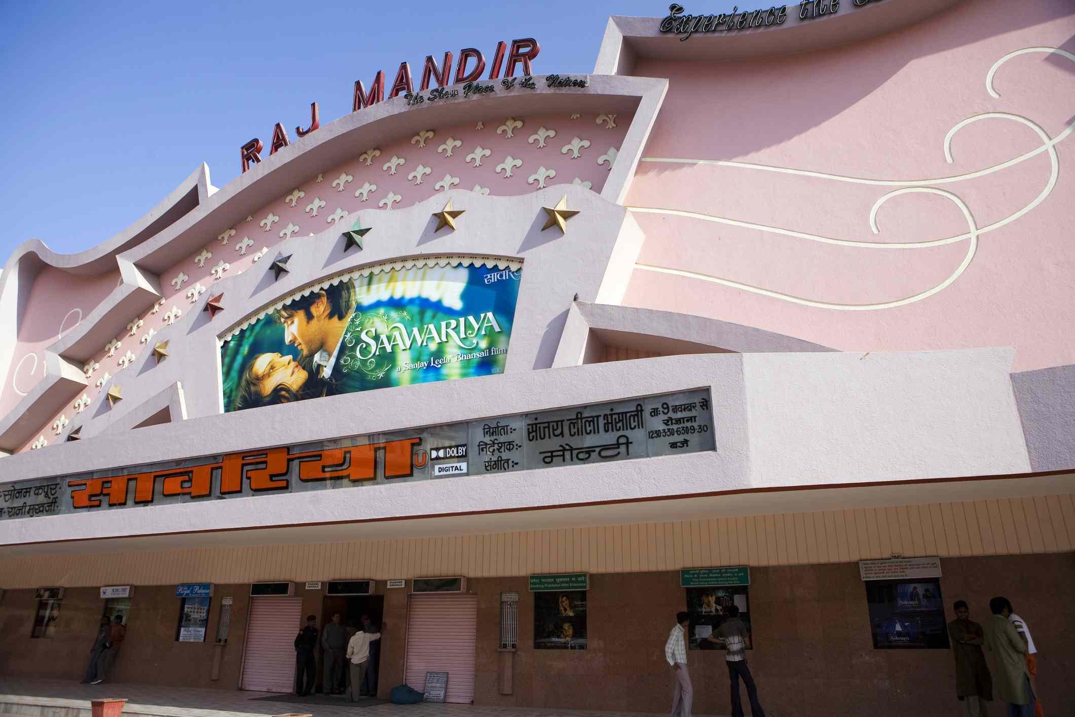 Raj Mandir cinema, Jaipur.