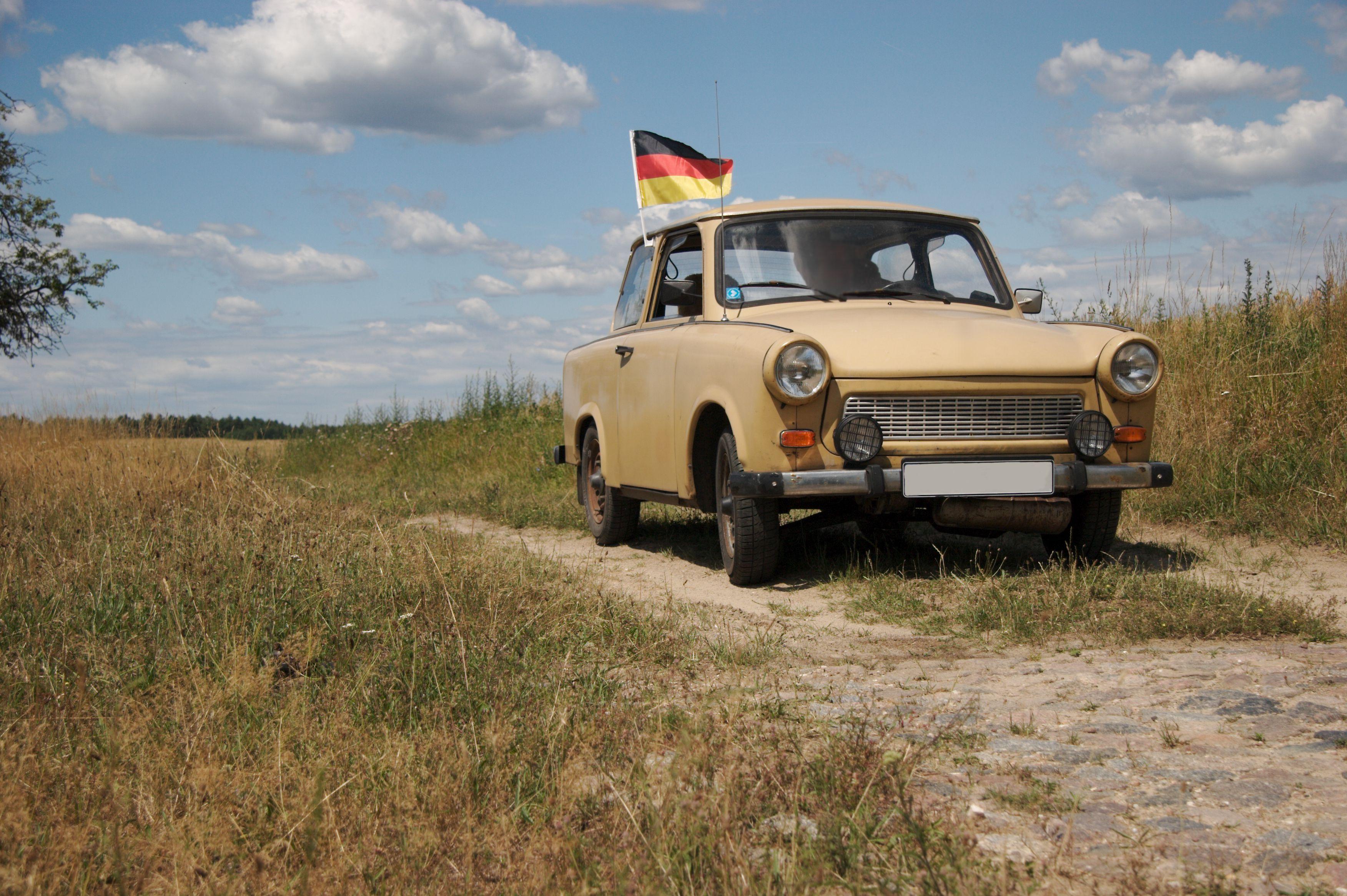 trabant, car from GDR, built 1986
