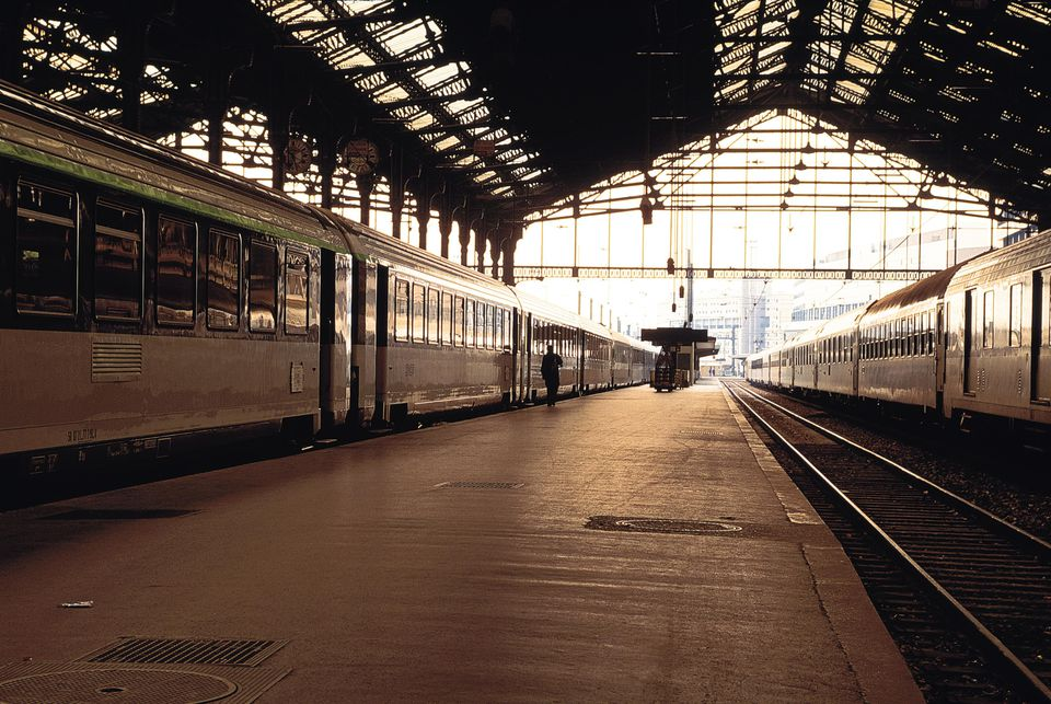 Gare De Lyon train station, Paris, France