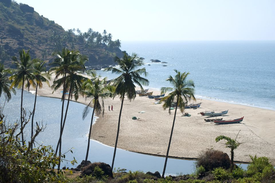 Khavne beach at Sindhudurg, Maharashtra, India