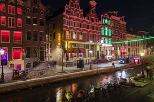 Red Light District in the Netherlands