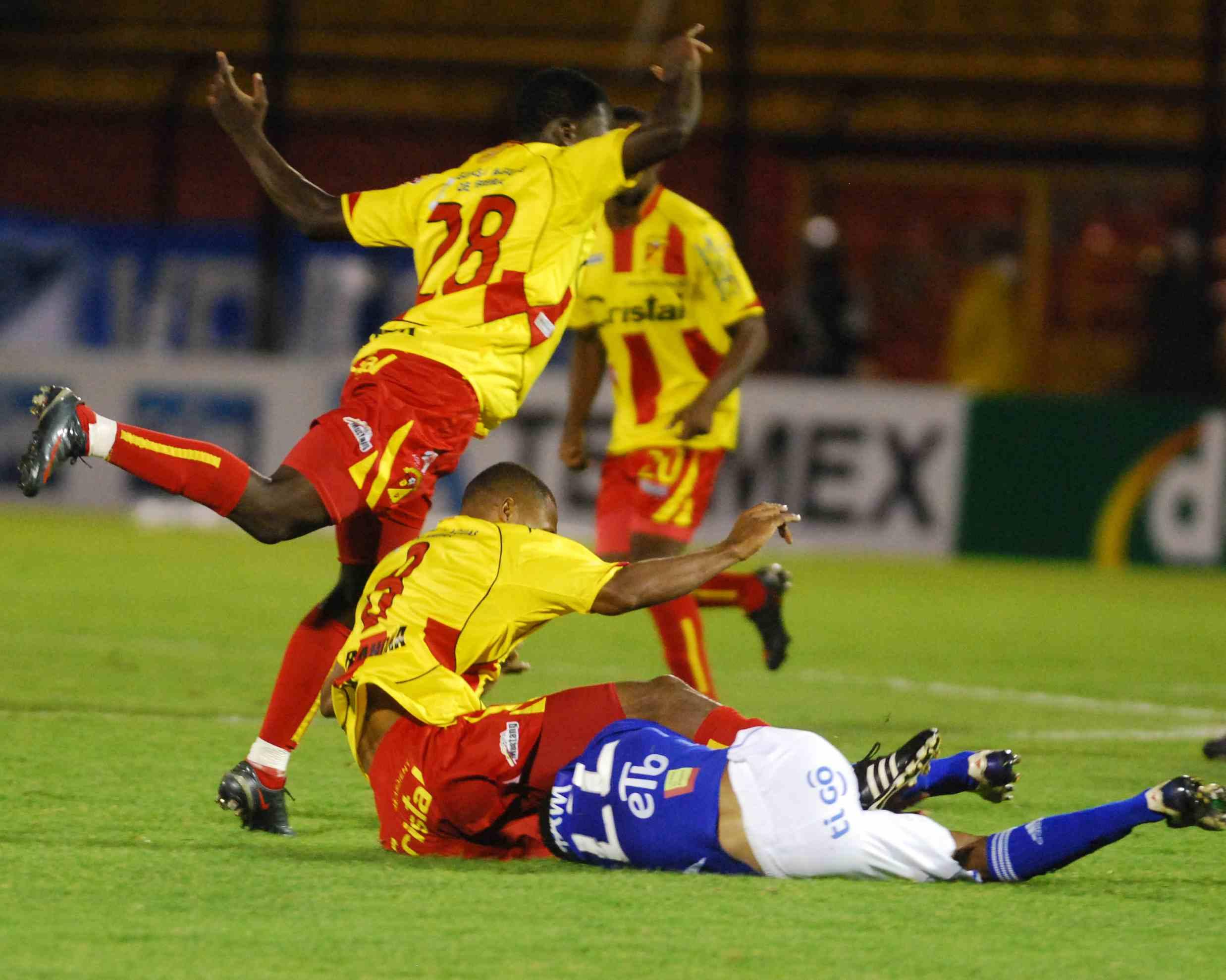 Soccer in Bogota