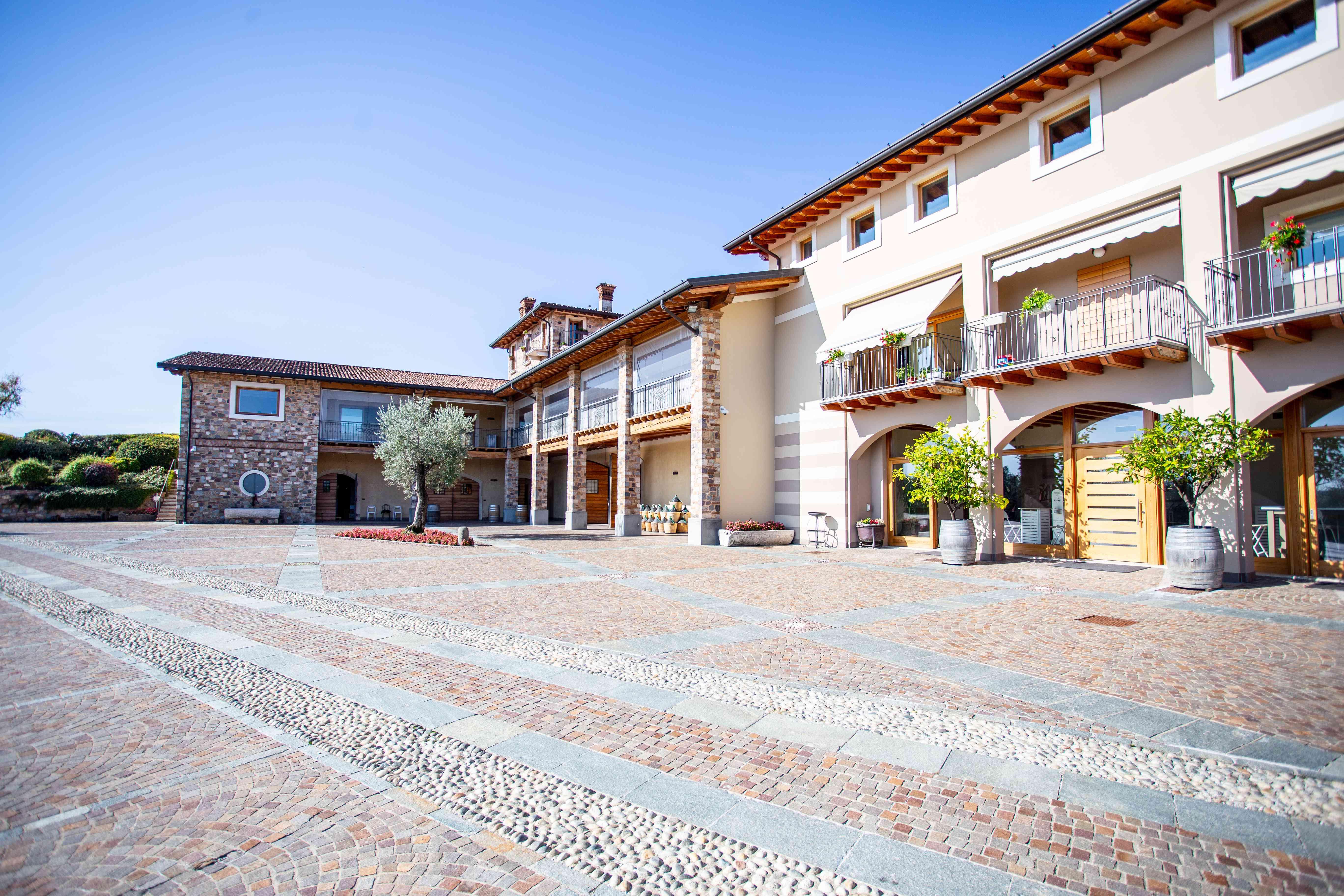 Ferghettina Winery in Franciacorta, Italy