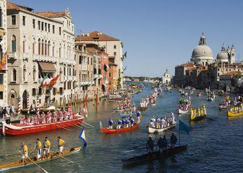 Regata Storica, Grand Canal, Venice, Italy