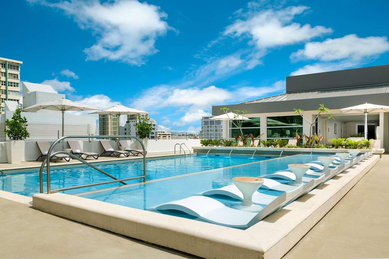 rooftop pool at AC Hotel by Marriott San Juan Condado