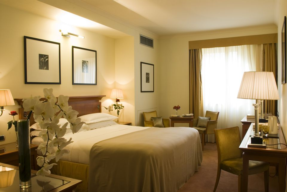 A room at Starhotels Metropole