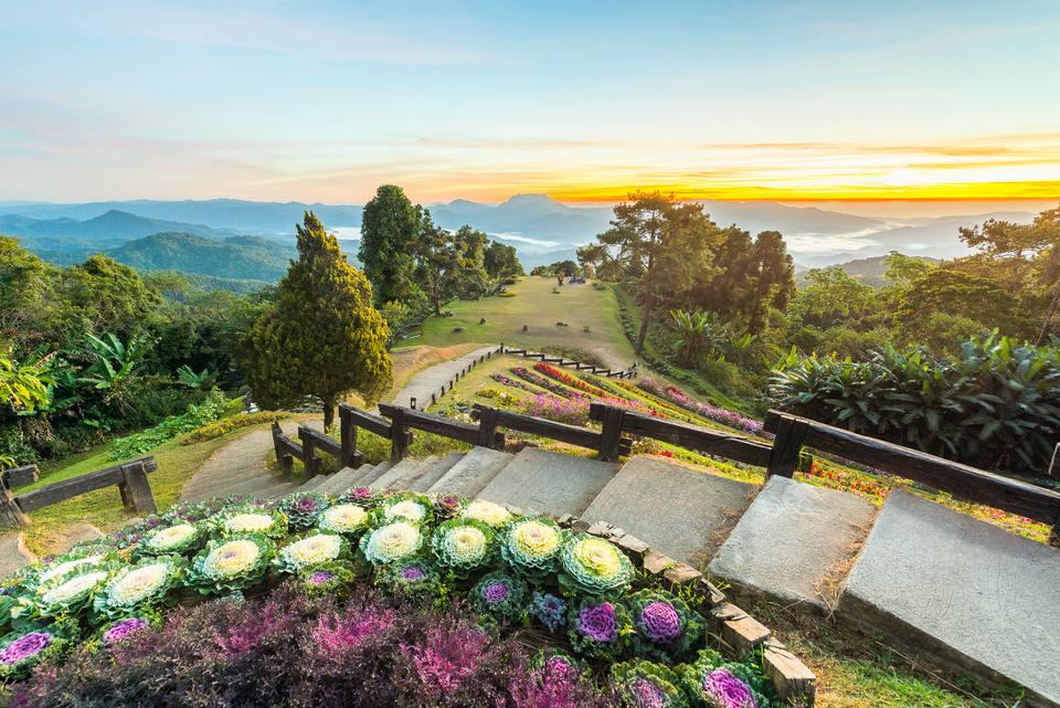 Huai Nam Dang National Park in Chiang Mai, Thailand