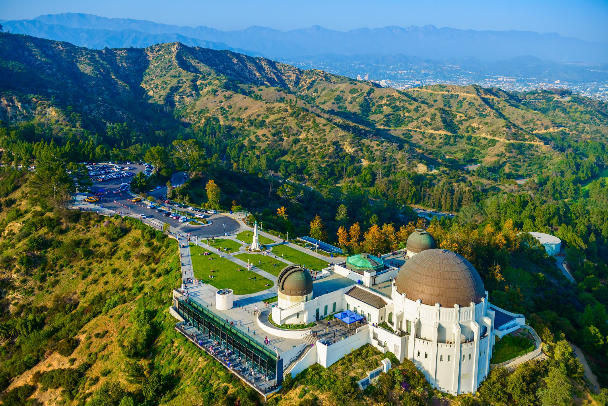 Griffith Observatory, Mount Hollywood, Los Angeles, CA