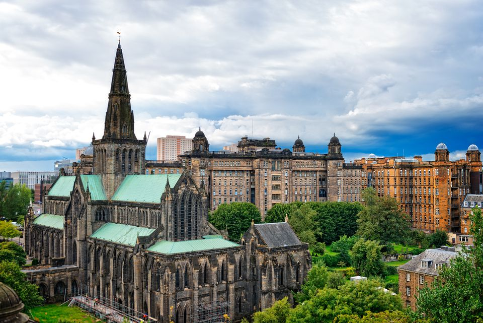Glasgow cathedral, Glasgow, Scotland