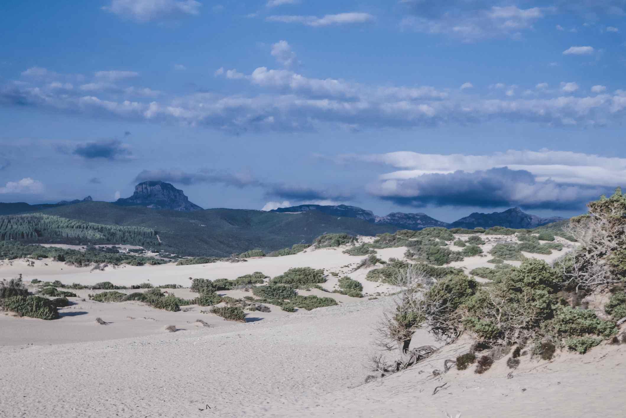 Piscinas dunes Sardinia