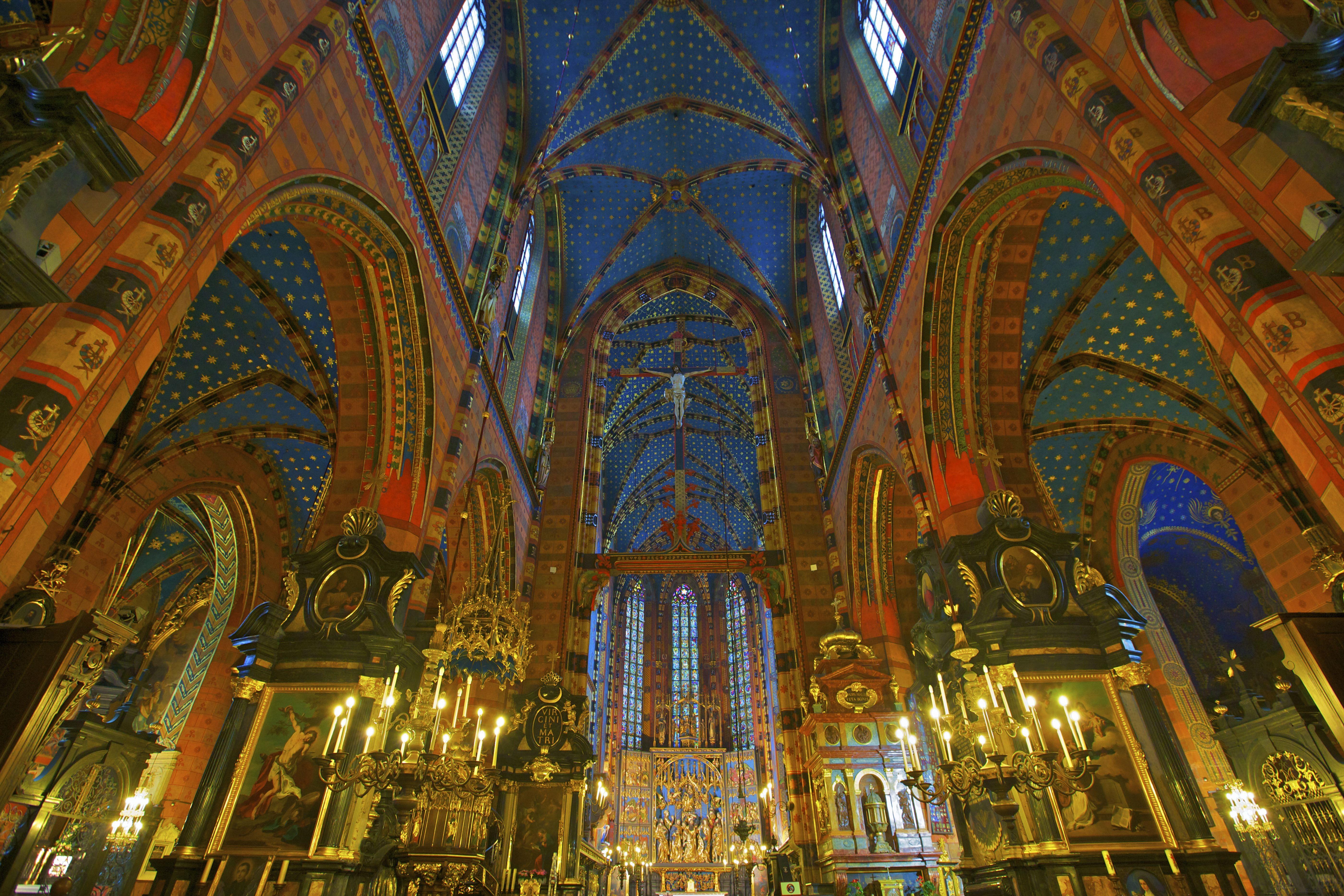 Church of St. Mary, Krakow, Poland