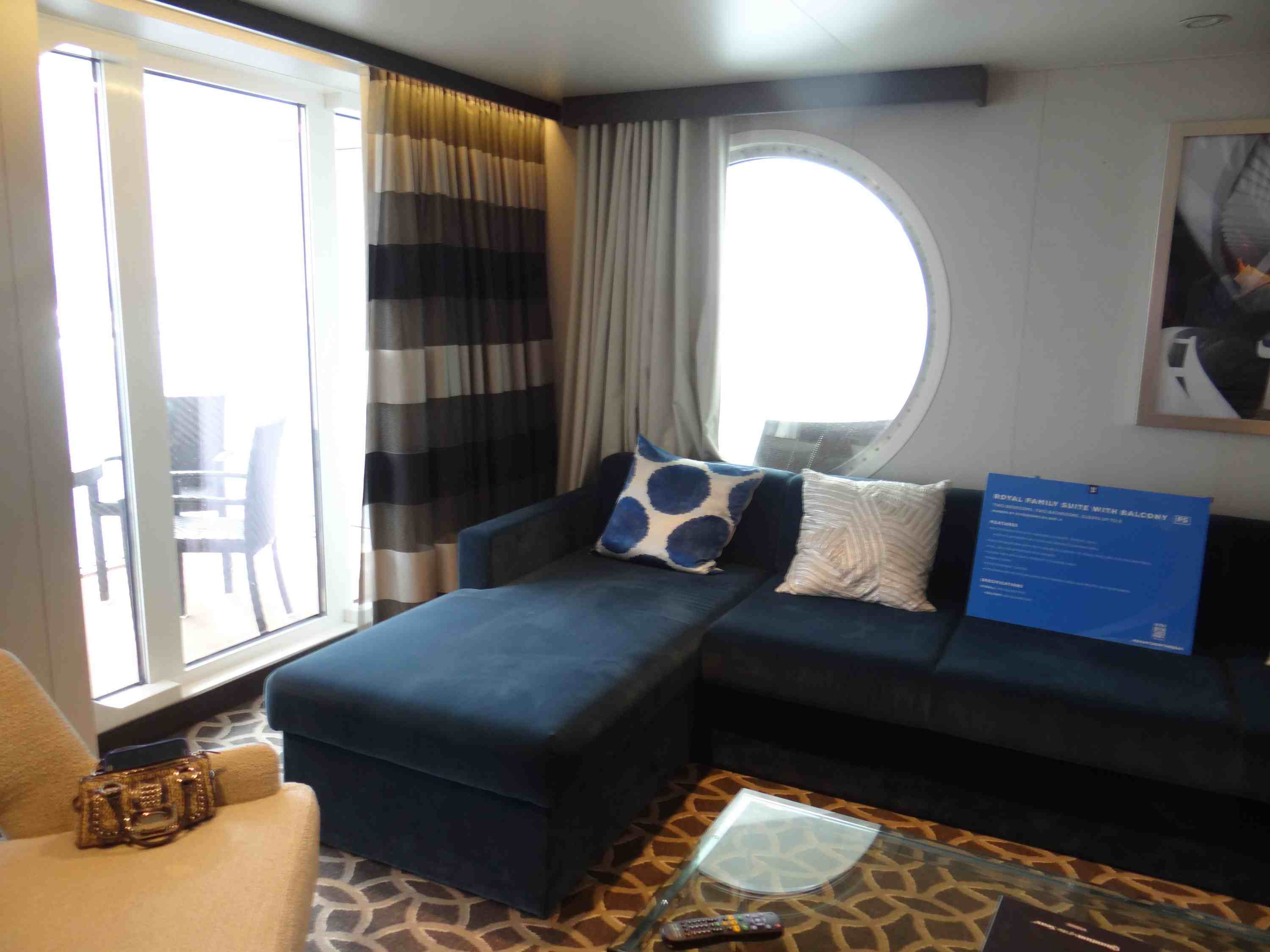 Quantum of the Seas Royal Family Suite with Balcony