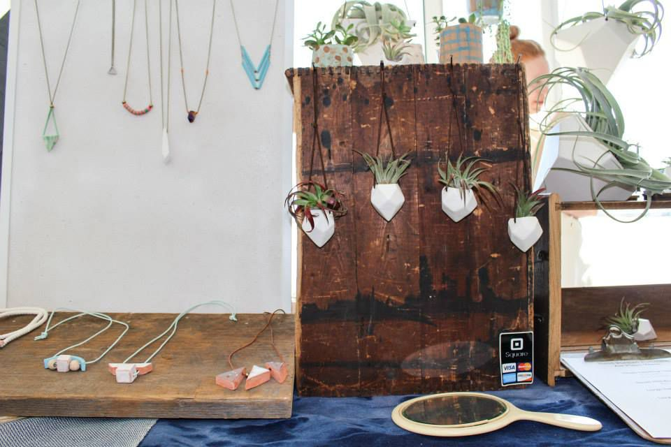 Janelle Gramling Designs at Maker Market at Discovery World