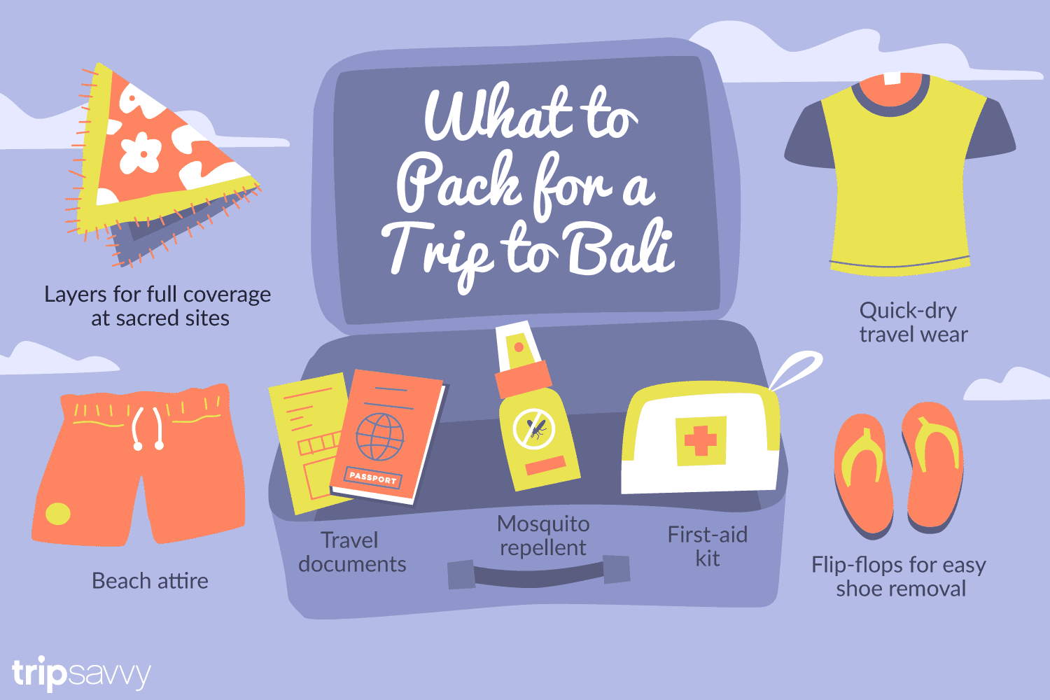 Bali Packing List Bring These Essential Items