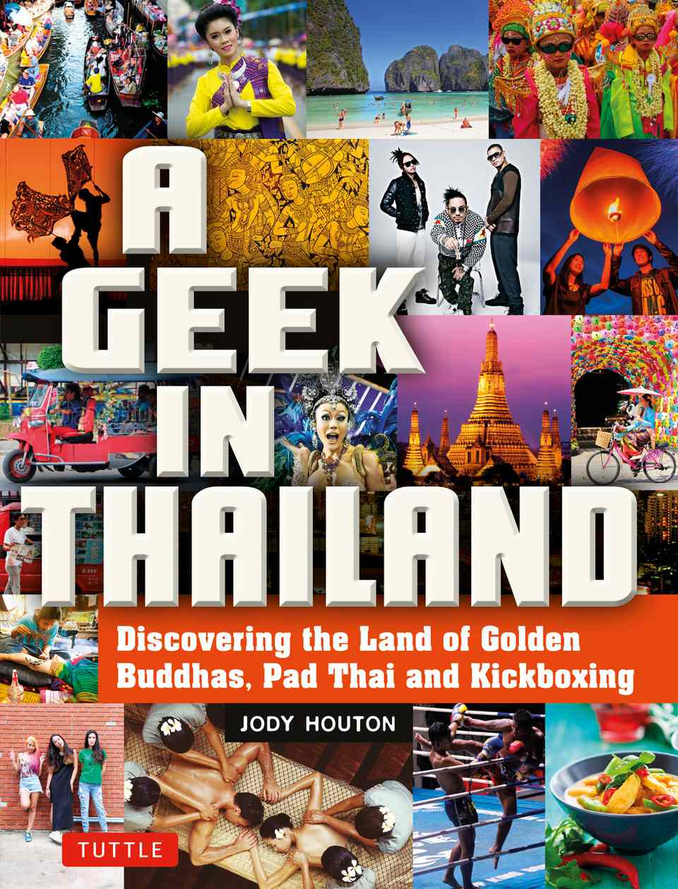 A Geek in Thailand, cover.