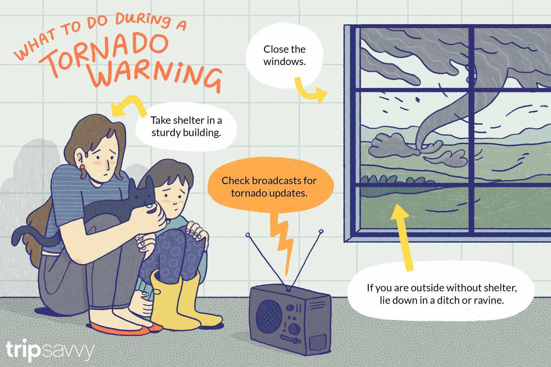 Tornado Watch Versus Tornado Warning
