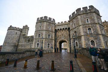 Entrance way into Windsor Castle