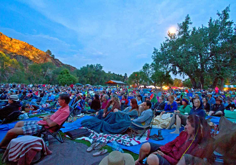 Rocky Mountain Folks Festival crowd