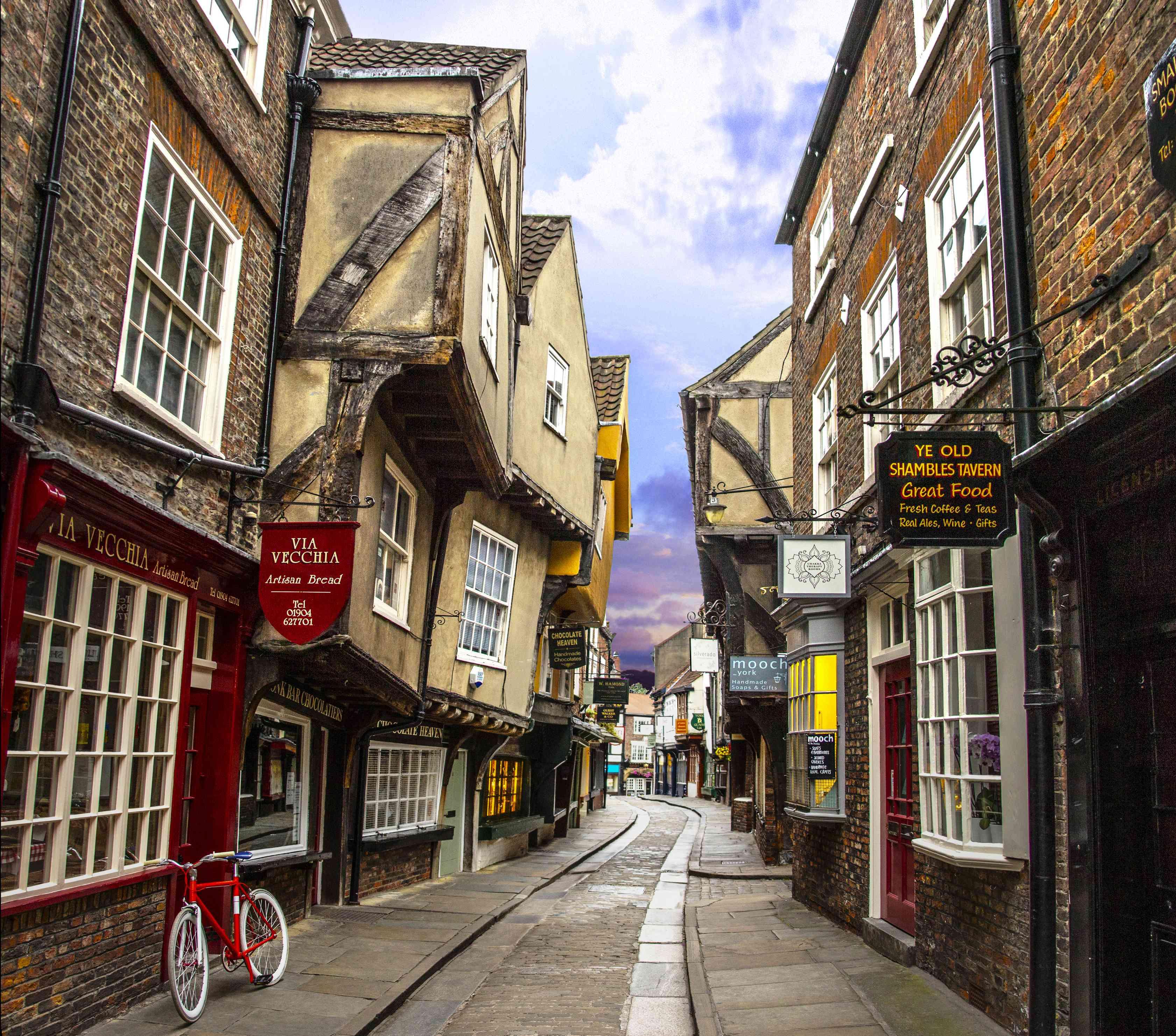 The Shambles, York, Yorkshire, England