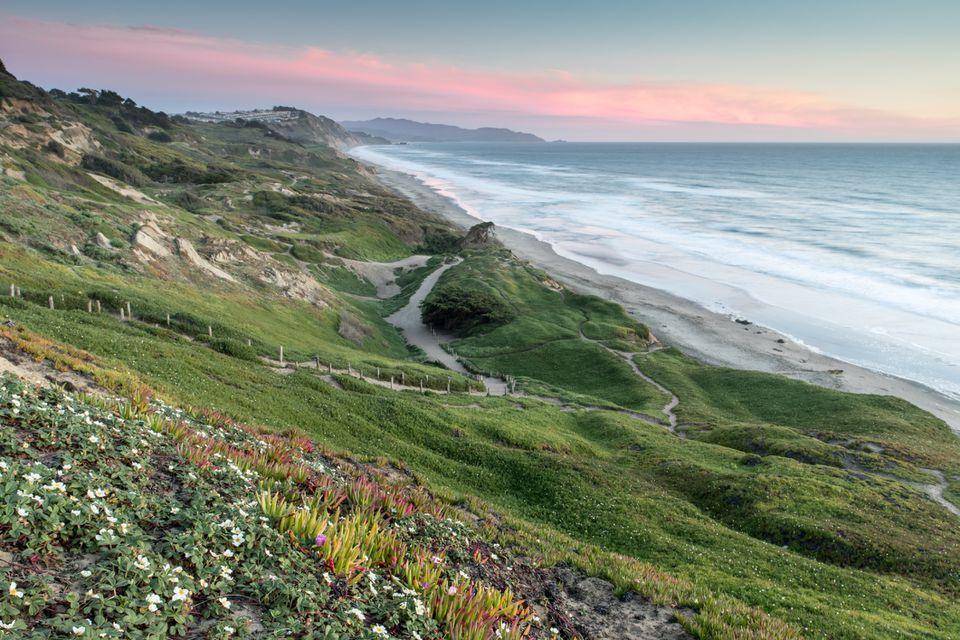 Fort Funston in Golden Gate National Recreation Area, California