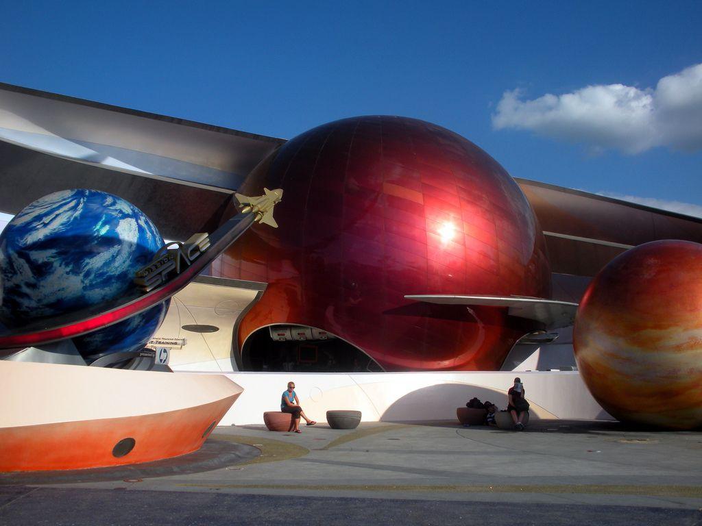 Mission Space Disney World