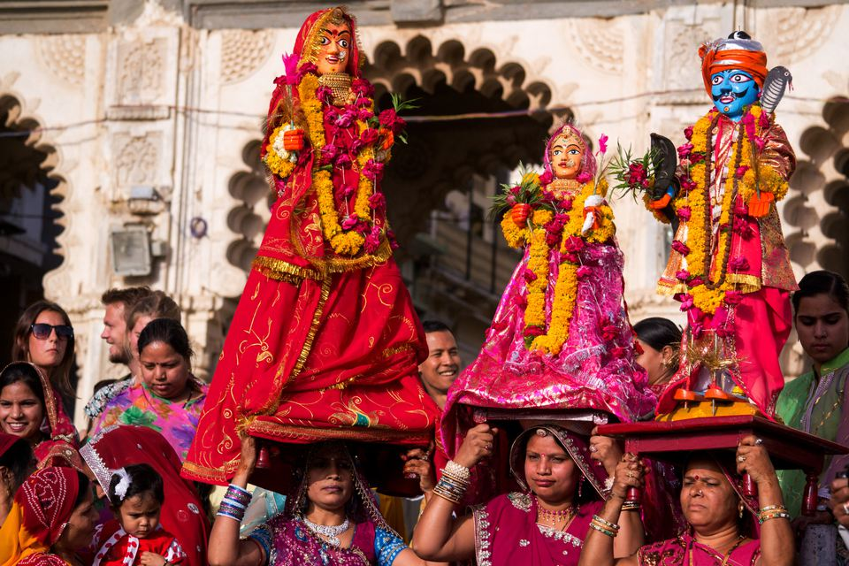 Gangaur festival celebrations at Udaipur