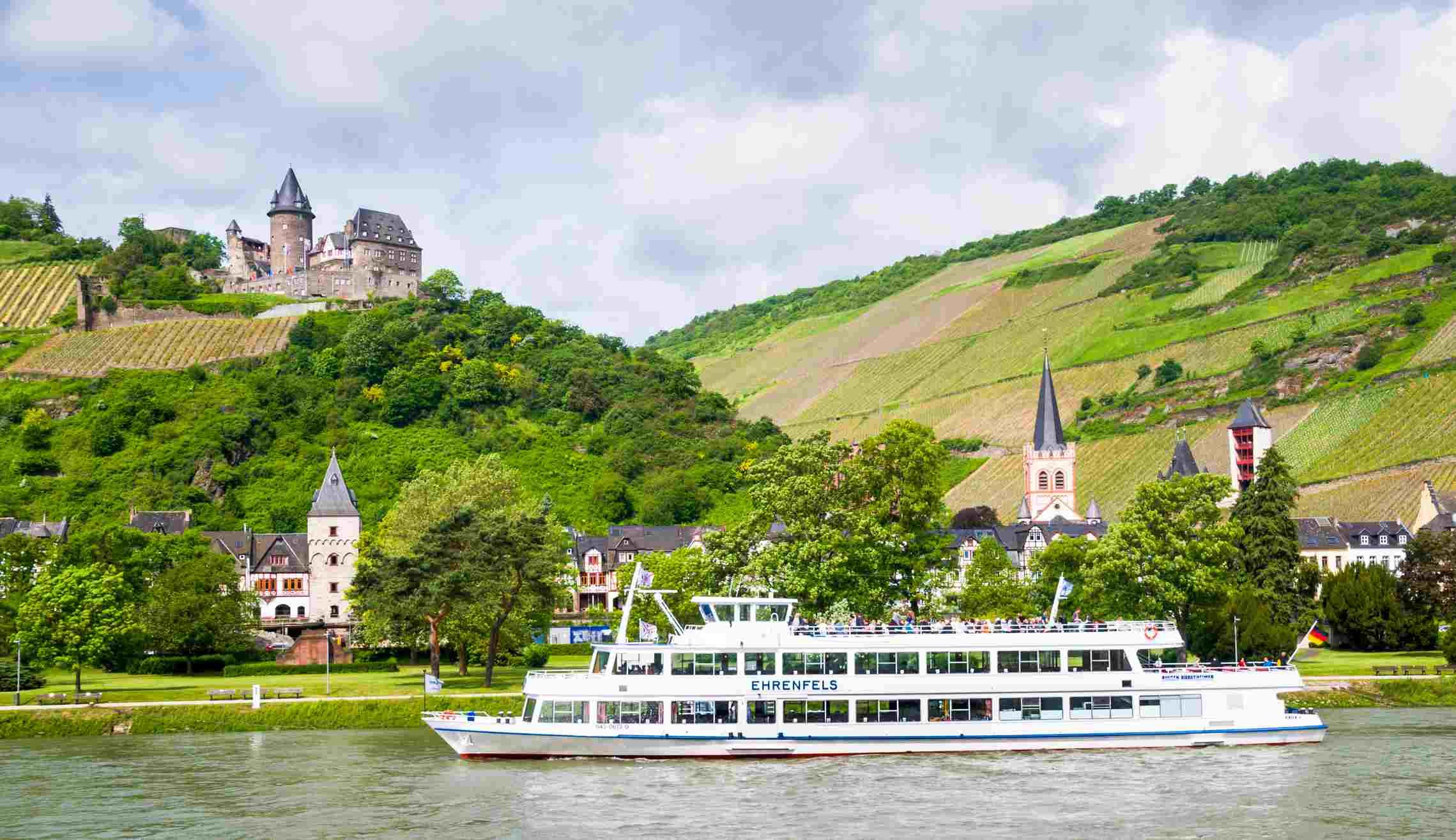 Rhine Cruise by Bacharach
