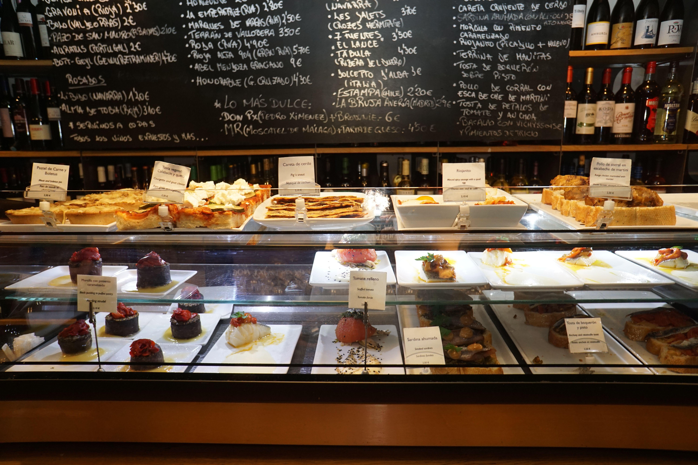 La Tavina tapas bar in Logroño