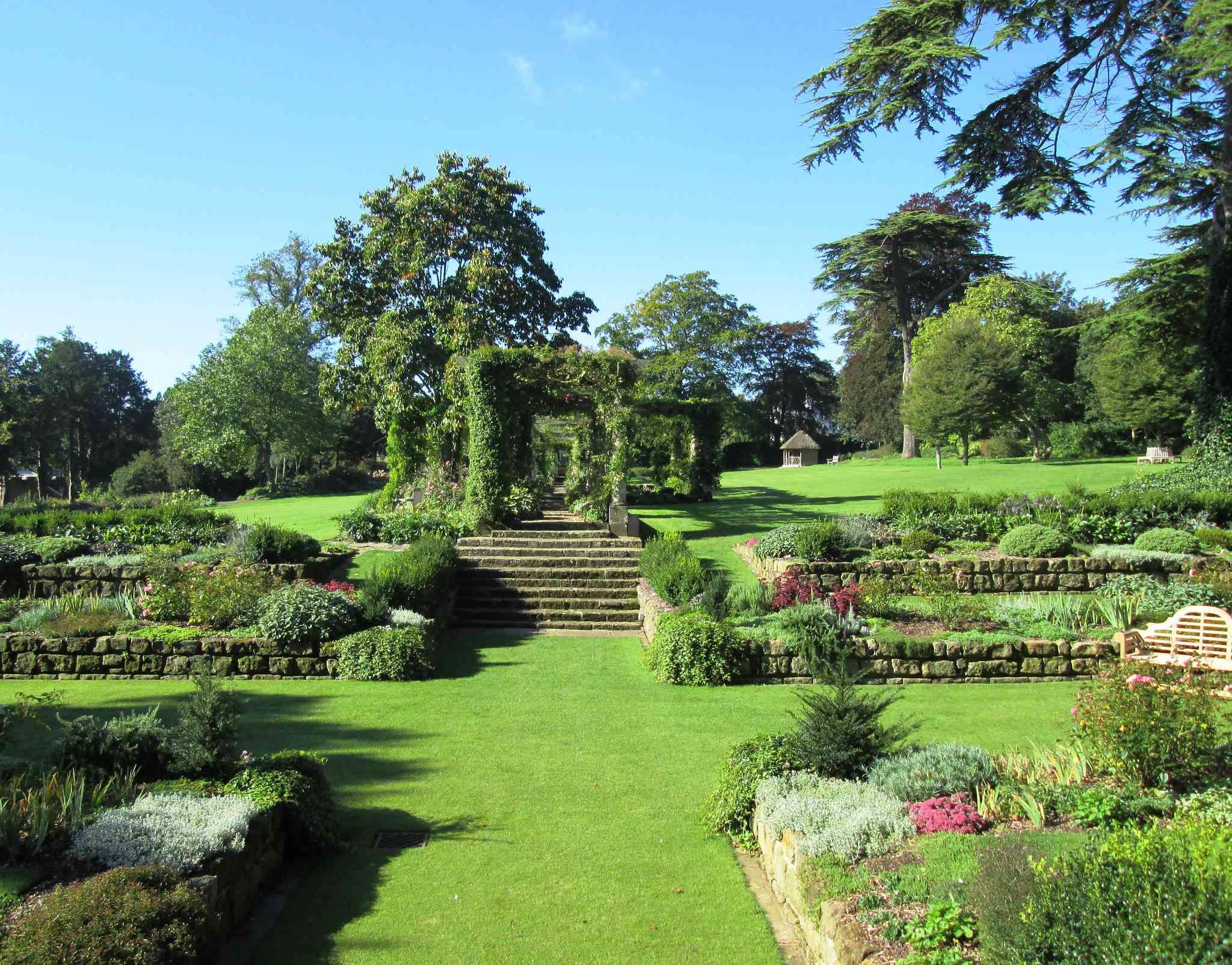 Sunken Garden in West Dean Gardens
