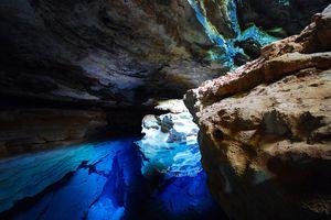A grotto in Chapada Diamantina National Park.