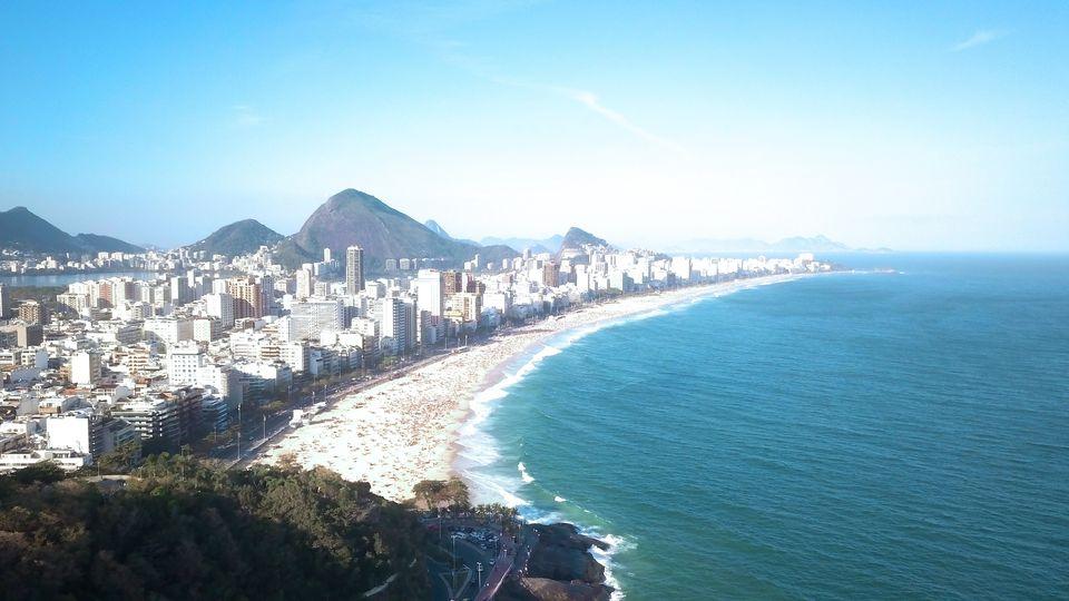 Rio de Janiero beaches, Brazil