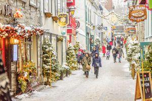 Petit Champlain Quebec City Christmas