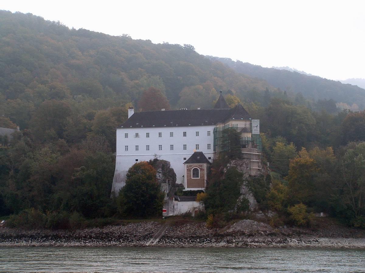 Danube River Castle in the Wachau Valley of Austria