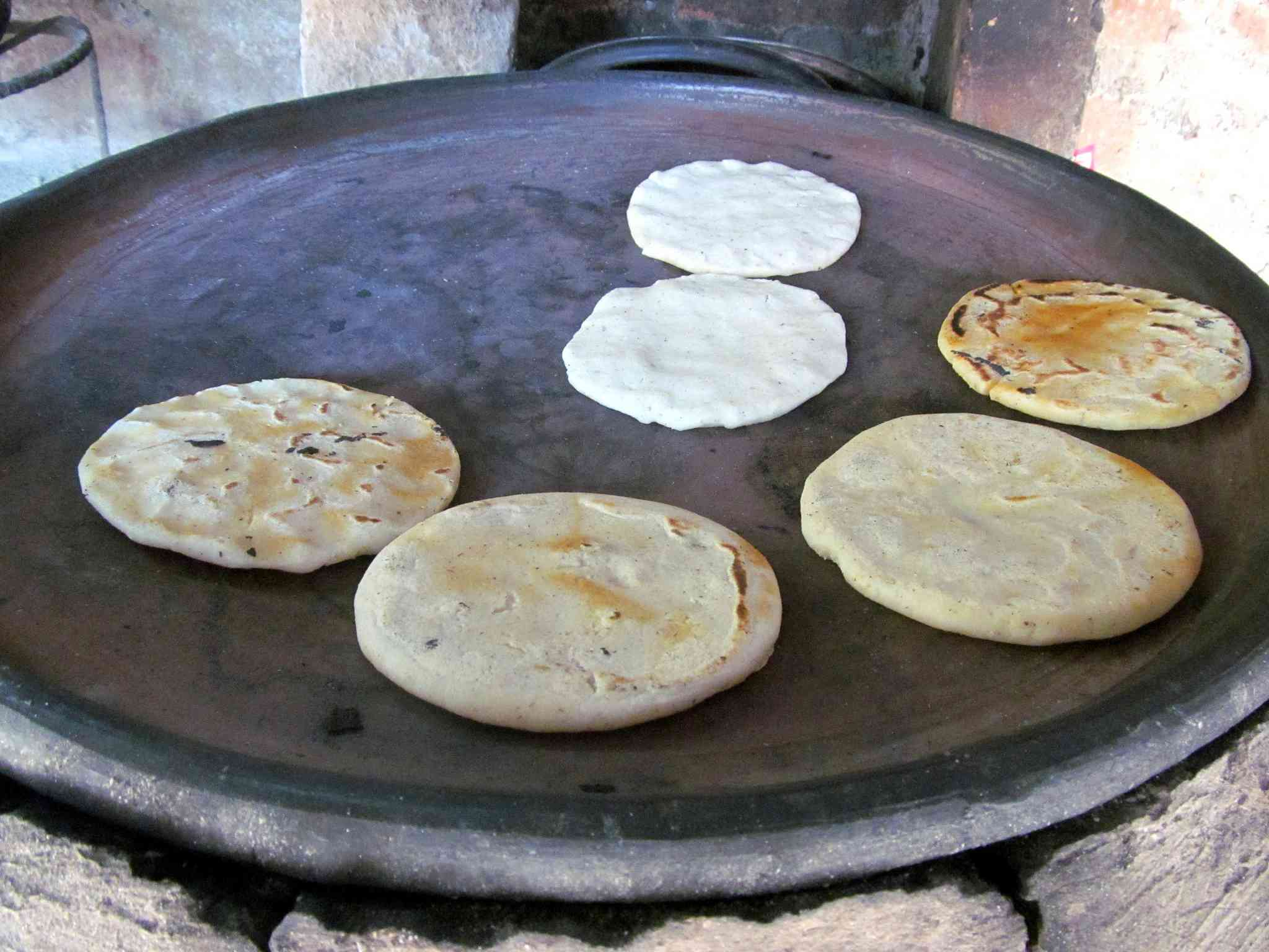 Tortillas de comal