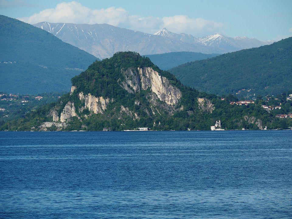 View of Lago di Maggiore